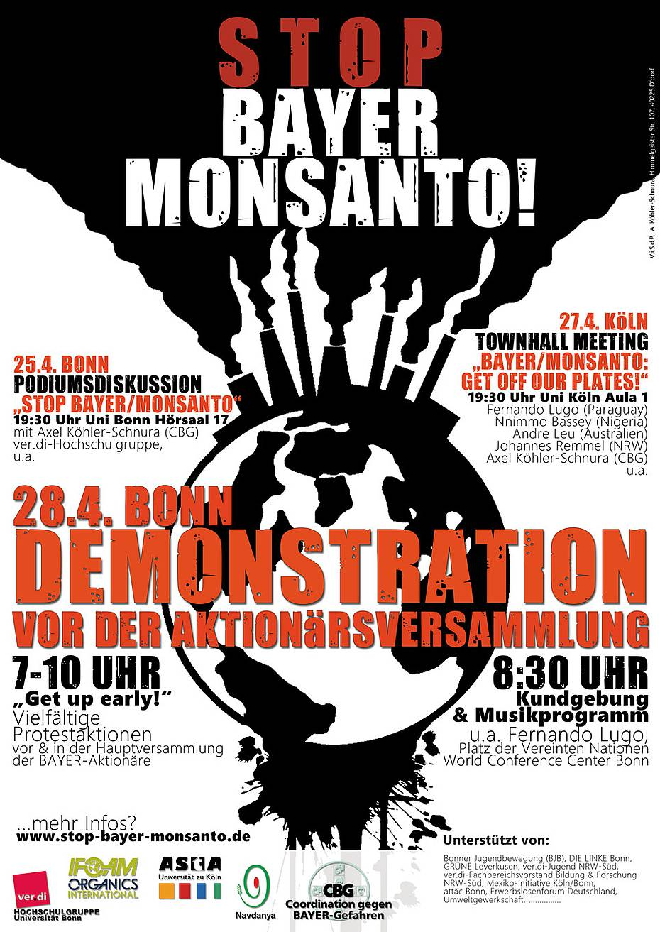 STOP BAYER/MONSANTO